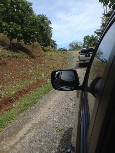 The road to Boca Chica