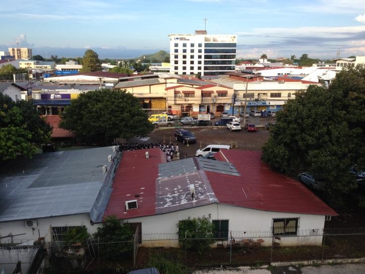 View from Ciudad de David