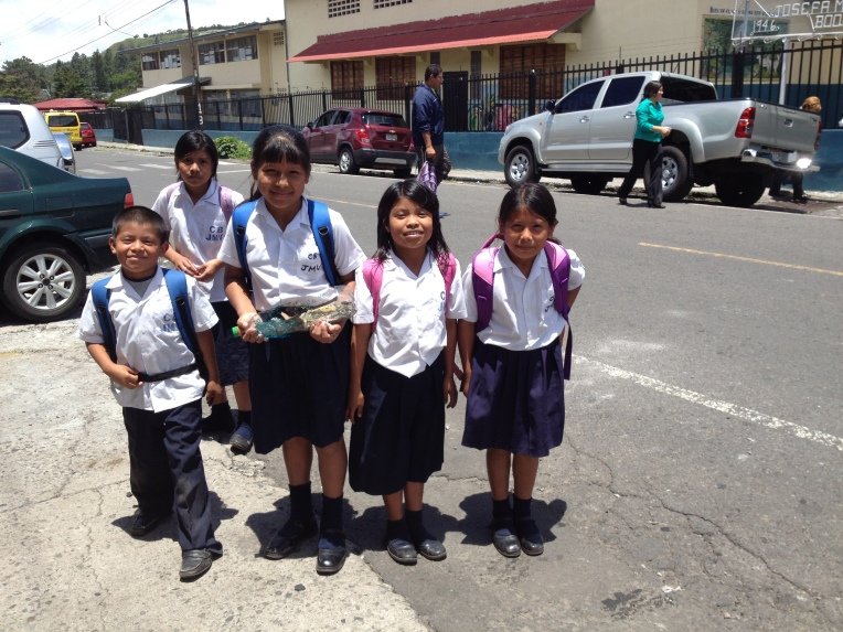 Primeria students in Boquete