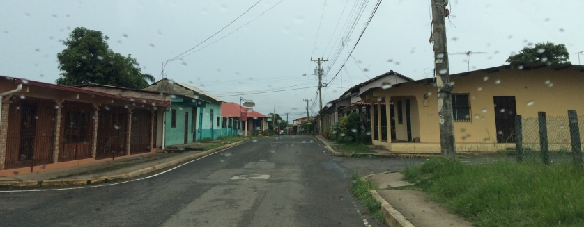 Pedasi, an off-season ghost town