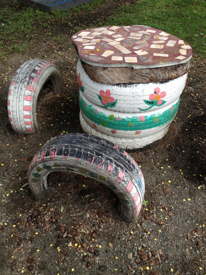 Reuse & Recycle: This park's fun is entirely made out of old tires