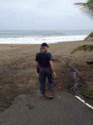 Gary at Playa Destiladeros