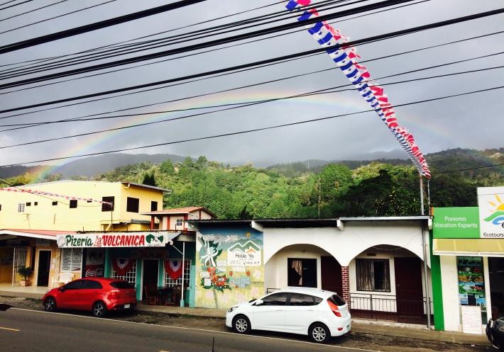 Rainbow in Boquete