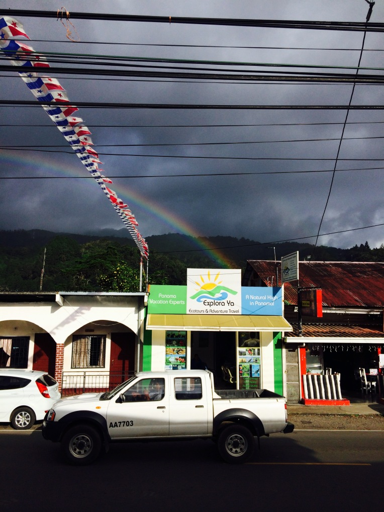Rainbow in Town
