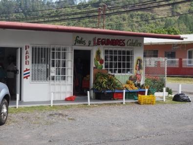 Vegetable Tienda in Bajo Boquete