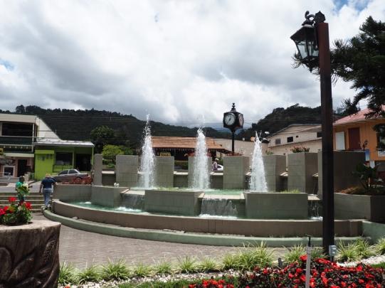 Boquete's Fountain
