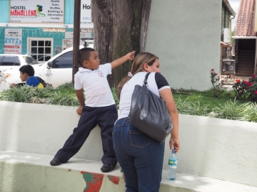 Mother and Son in Boquete