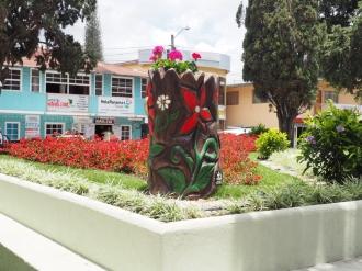 Artwork in Boquete
