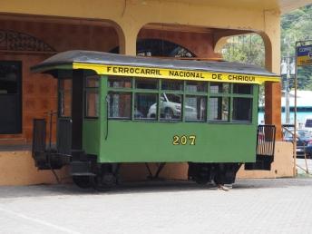 Train Car in Town Square Boquete