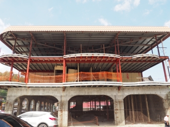 Unfinished project in Boquete
