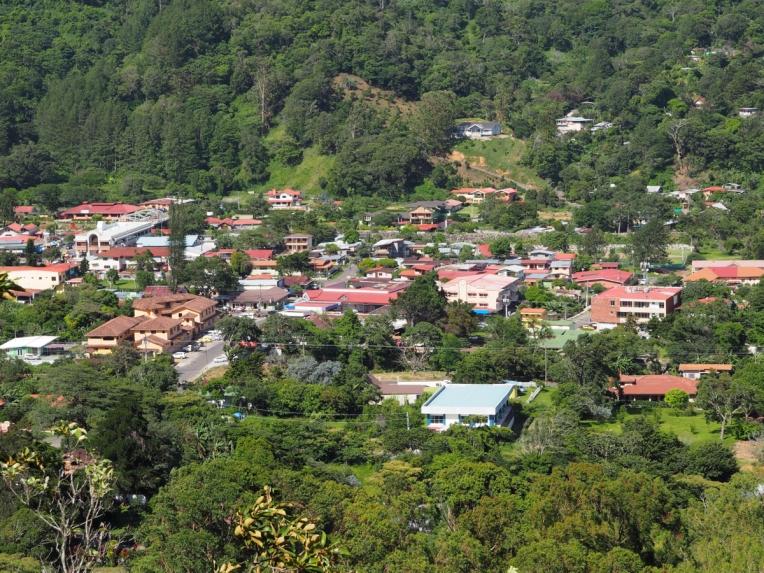 Scenic view of Bajo Boquete